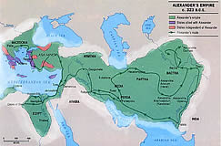 Ancient Civilisations Map