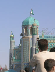 Religions Worldwide Photograph - Mosque in Mazar Sherif, Afghanistan